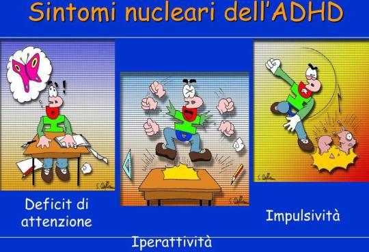 ADHD 3 SINTOMI